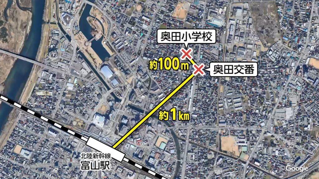 toyama cop 1024x576 일본 도야마 파출소 습격사건! 권총탈취 머리에 발포