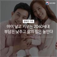 출산률 높이기 185x185 저출산고령사회위원회 발표, 저출산대책 상세내용