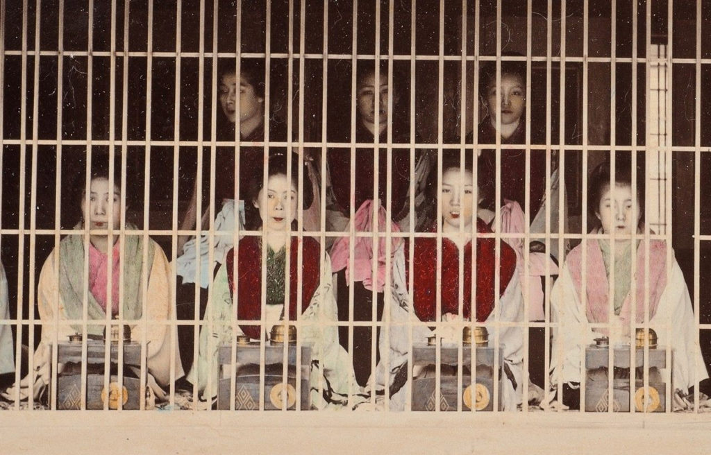 요시와라유곽3 1024x656 북한 외무성 일본연구소의 위안부 기사! 일본의 성노예범죄 책임