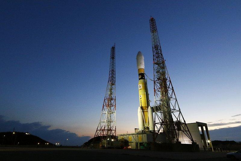 우주수송선 일본로켓 일본 무인우주선 코우노토리 7호기 탑재 H2B 로켓 발사
