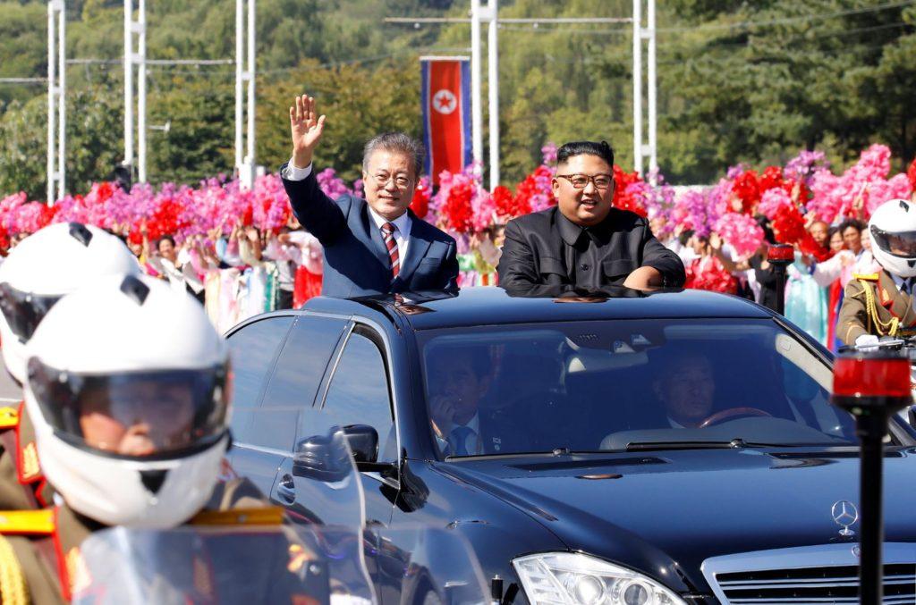 northkorea southkorea summit 1024x677 조선중앙TV, KBS특집방송 3차 평양 남북정상회담 다큐