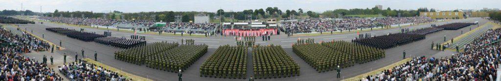 일본자위대 열병식 1024x167 일본 방위비 증액? 자위대 열병식에서 개헌의지 피력한 아베총리