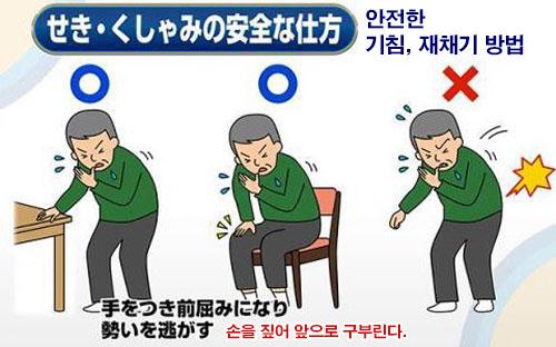 기침 재채기 화제의 급성요통 치료! 허리통증 예방 3초 스트레칭 동작 및 자세