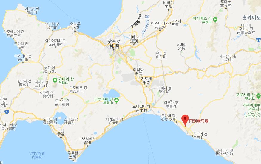 홋카이도 경마장 일본경마 전대미문의 착순판정 오심! 1, 2착 뒤바껴