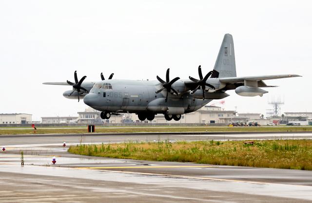 공중급유기 이와쿠니 주일미군 전투기와 공중급유기 충돌사고로 추락