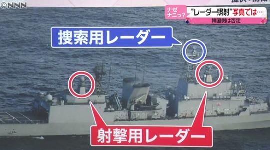 구축함 레이더 사격관제 레이더 P1초계기 조준과 일본의 반론! 우발적 사고 가능성