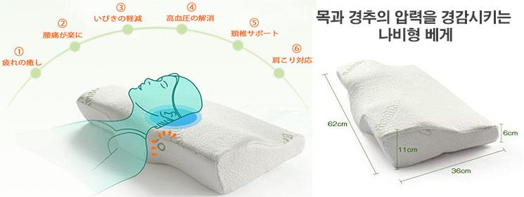 나비베게 허리통증 완화! 요통에 좋은 4가지 스트레칭 및 숙면 베개 만들기