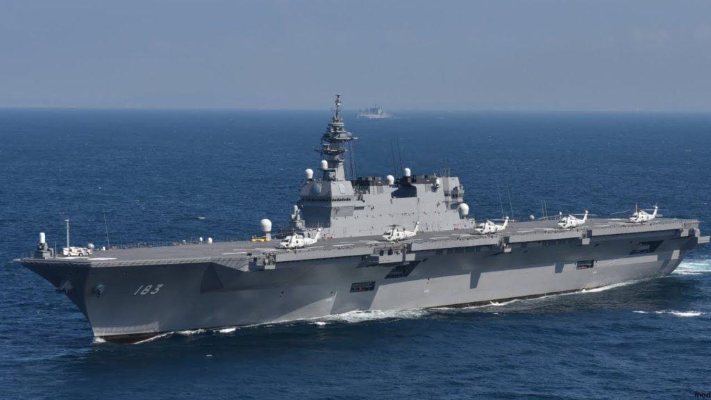 이즈모 항모개량 1024x576 호위함 이즈모를 항공모함으로 활용! 일본 방위대강 골자