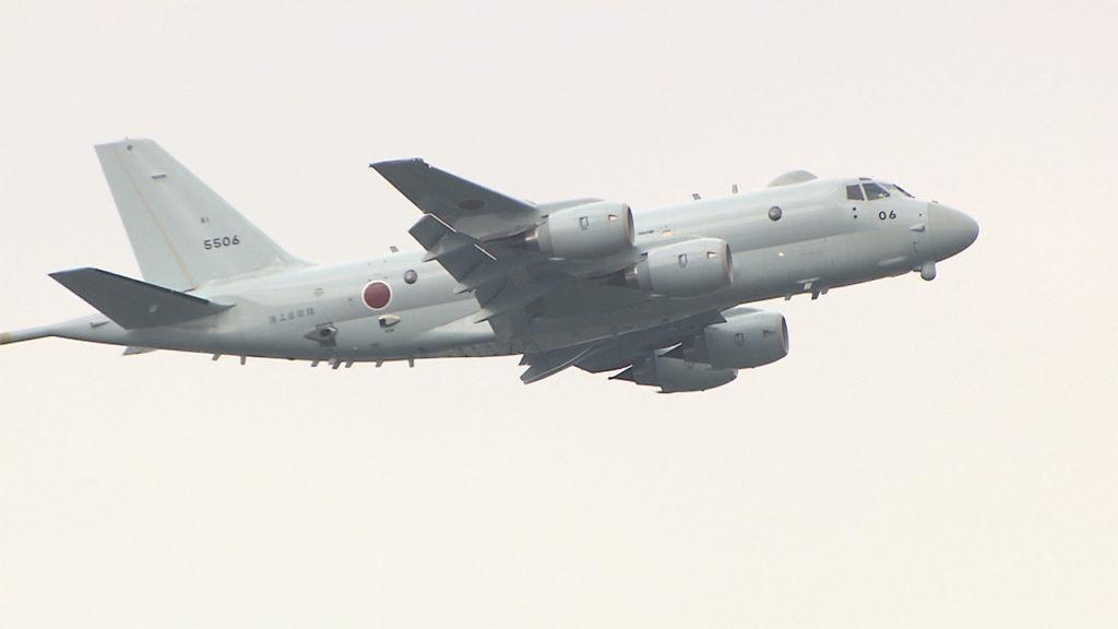 일본 초계기 1024x576 해군 구축함(광개토대왕함) 사격관제 레이더로 일본 P1초계기 겨냥