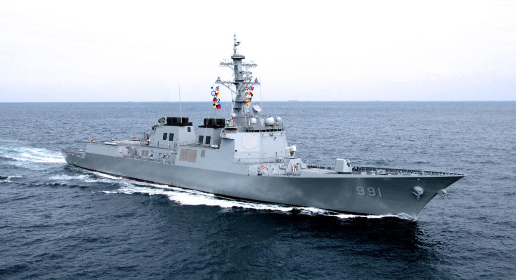 Sejong the Great class destroyer 1024x557 신의 방패 이지스 구축함 세종대왕함의 전투력 랭킹