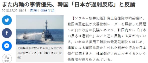 sankei 사격관제 레이더 P1초계기 조준과 일본의 반론! 우발적 사고 가능성