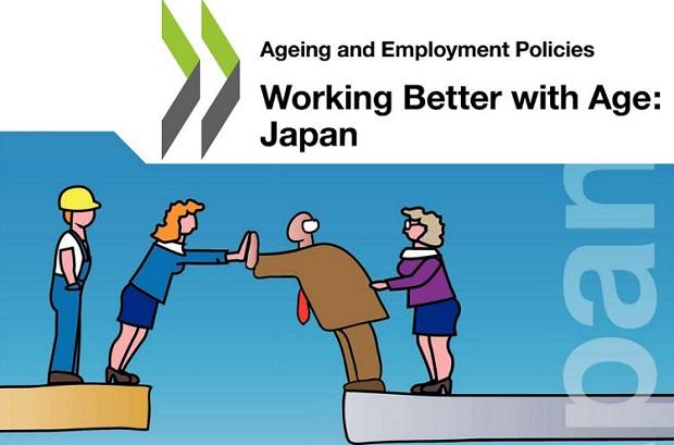 Working Better with Age 여성 및 노인의 경제활동 저조하면 취업자 급감! OECD의 일본 리포트