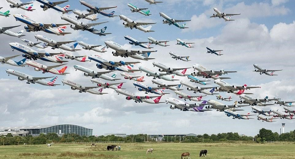 air traffic 2018년도 항공 교통량 역대 최고…하루 평균 2,204대 꼴