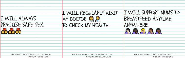 health tip04 WHO조언! 기해년 새해결심 건강팁 12가지