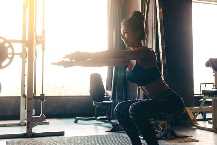 Squat 중성지방(체지방) 제거에 효과적인 근력운동 슬로우 스쿼트