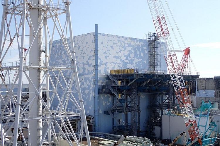 Unit 2 reactor building at Fukushima Daiichi [그린피스 보고서] 일본 후쿠시마 원전 방사성 오염수 위기