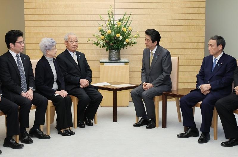 abe kantei 일본 고노 외상 기자회견! 독도, 북미회담 관련! 아베는 납북자 가족 면담