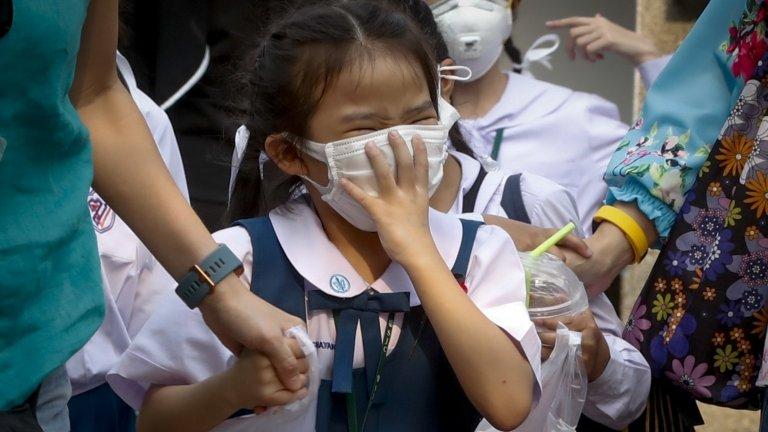 thai 미세먼지 태국 방콕 초미세먼지 대기오염 심각! 인공강우 시험