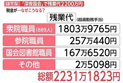 일본국회 잔업 국회와 국민 모독하는 아베총리! 법의 지배 반대말은?