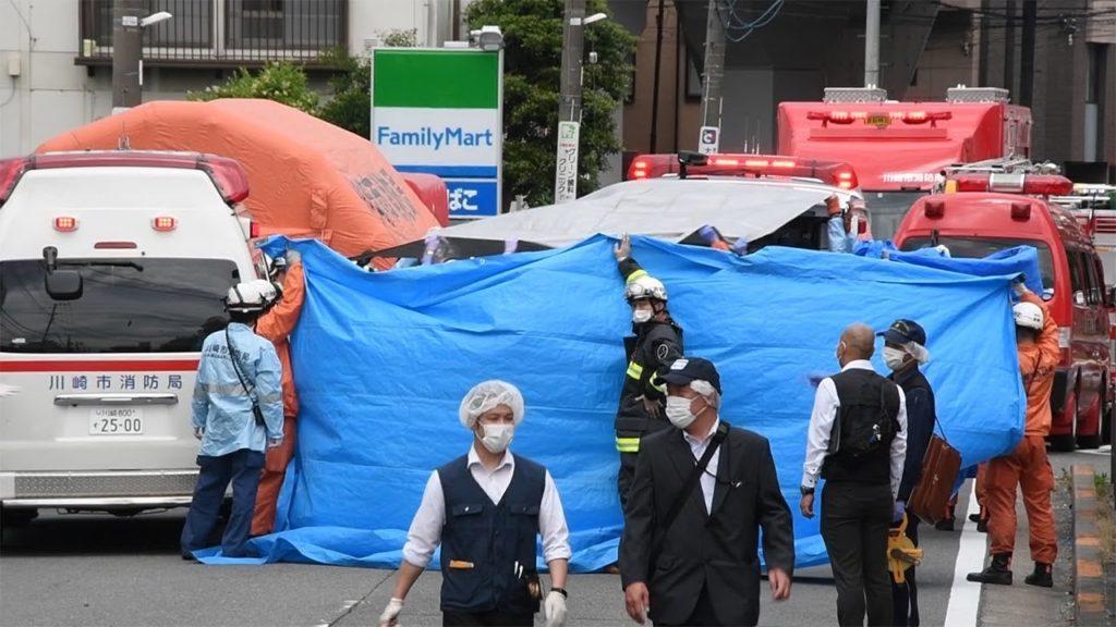 흉기난동 1024x576 일본 흉기 난동으로 19명 사상! 초등생 여아와 39세 남성 사망