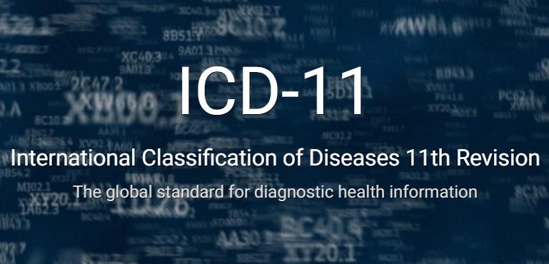 icd11 WHO, 게임중독은 질병 분류, 성별 불일치(성정체성장애)는 제외