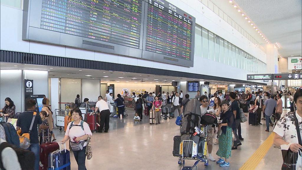 narita airport 1024x576 일본 오봉야스미 여름휴가 기간 나리타공항 한국인 입국자 35% 감소