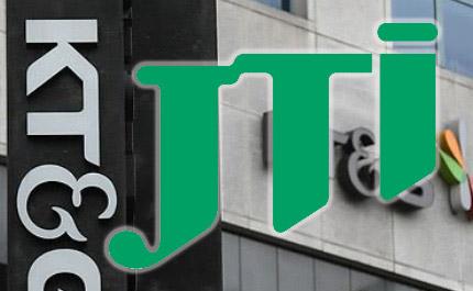 KTNG JT 일본담배산업(JT) 보유 KT&G 주식 2%(약 2500억원) 전량 매각