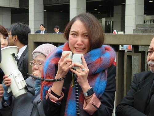 ito crying 일본 미투의 상징 이토시오리 민사소송 승소! 강간범에 배상 판결