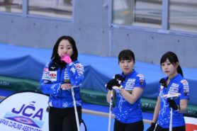 Curling fujisawa 01 278x185 일본 컬링 대회 평창올림픽 스타 후지사와 사츠키 소속팀 우승! 세계선수권 출전