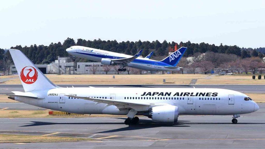 일본항공사 1024x576 일본항공(JAL), 전일본공수(ANA) 5월에도 국제선 운항 90% 감편
