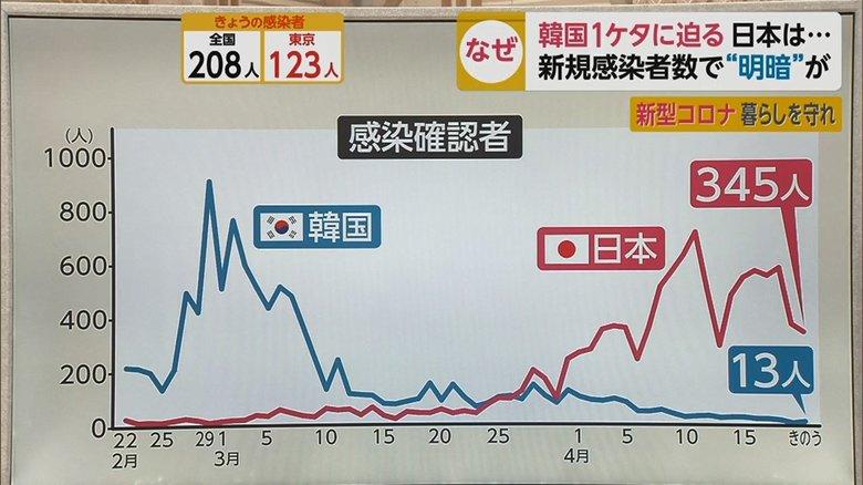 한일 코로나 확진자 비교 21일 일본 코로나바이러스 확진자 390명, 사망자 20명으로 급증 추세