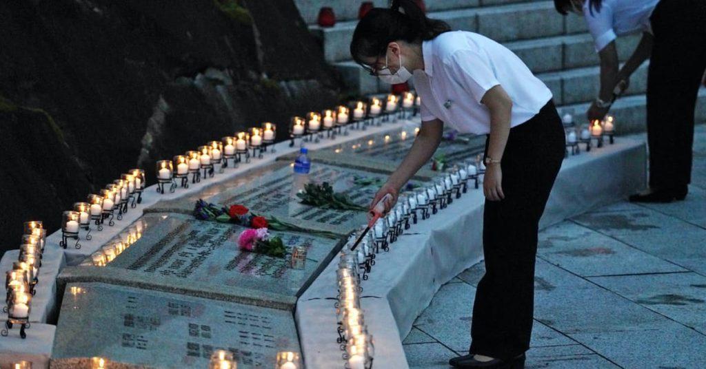 일항기 추락사고 35주년 1024x536 일본항공 JAL123편 일항기 추락사고 35주기 추도식
