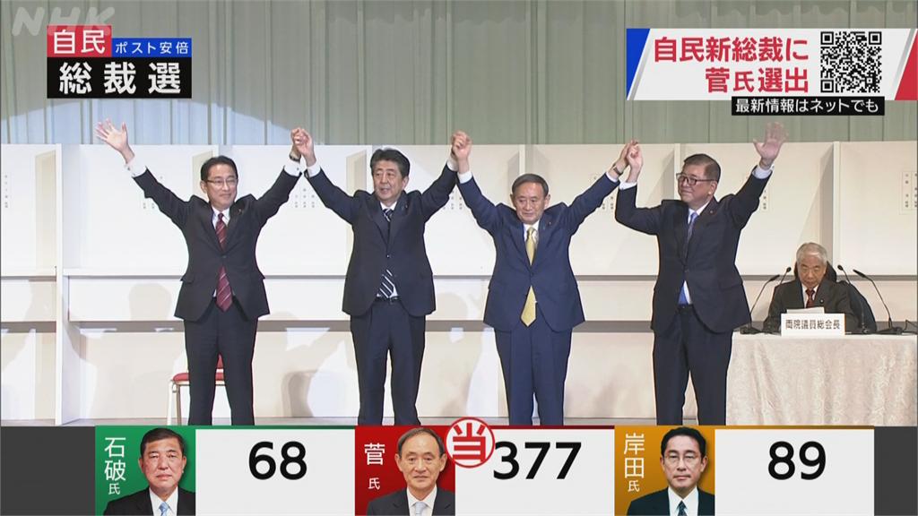 일본총리 자민당총재 일본 자민당 총재 선거 스가 압승! 16일 제99대 일본총리 취임
