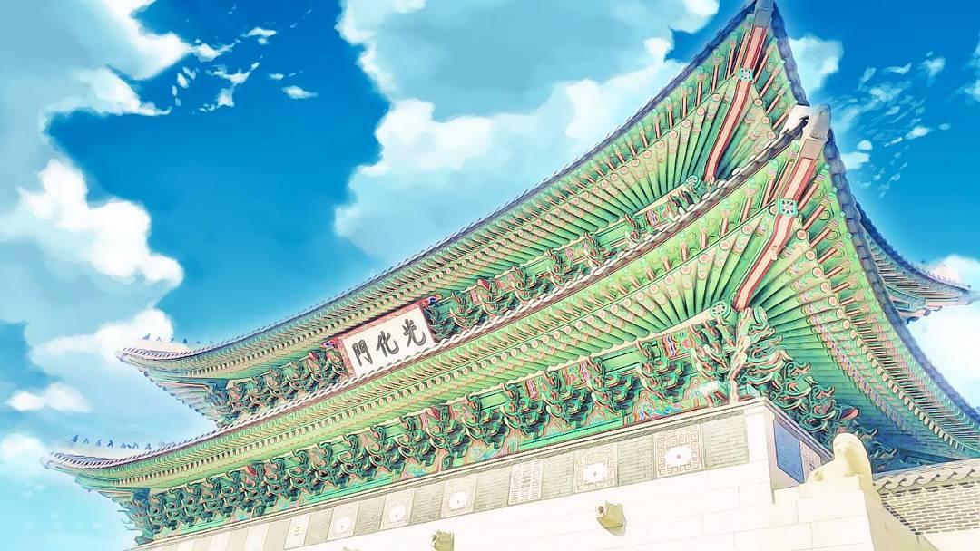 kwanghwamoon 그림같은 서울 광화문 gwanghwamun in seoul