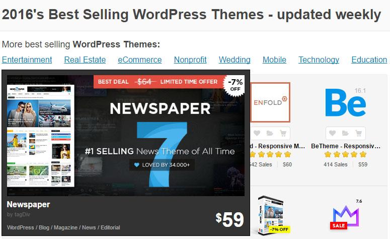 wordpress themes sales 테마포레스트 워드프레스 유료테마 X mas기념 50% 할인판매중