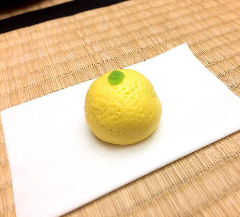 yuzu sweets 1024x924 올해 마지막 제과 제빵 수업! 유자 모양의 과자 완성!