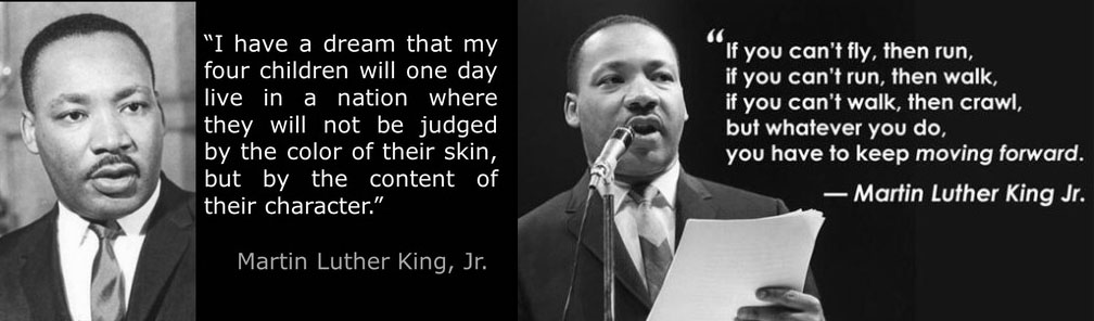 Martin Luther King 버락 오바마 부부의 마틴 루터킹 데이(Martin Luther King Day)