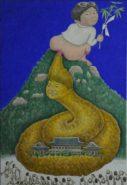 hong painting01 127x185 세월오월 작가 홍성담 화백의 말빨, 호접몽 뜻은?