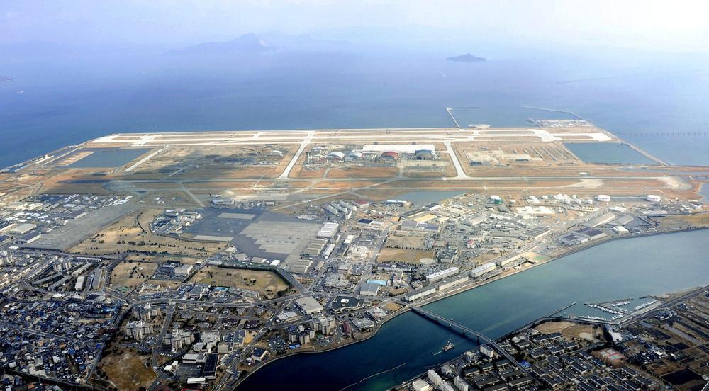 iwakuni airport 미해병 수직이착륙 스텔스전투기  F 35B 일본 이와쿠니 기지 배치