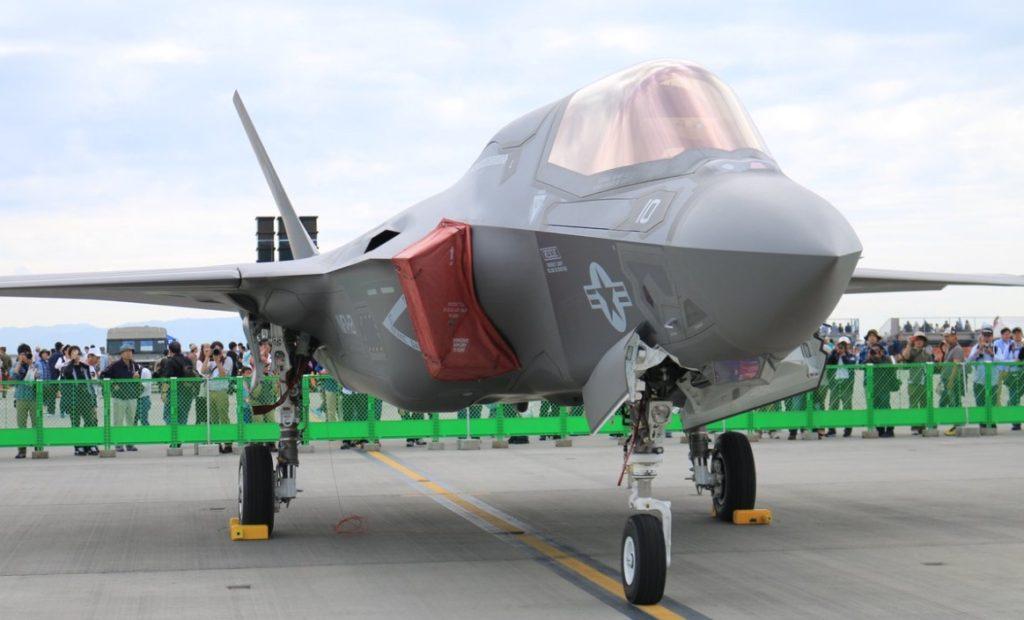 iwakuni f35b 1024x620 미해병 수직이착륙 스텔스전투기  F 35B 일본 이와쿠니 기지 배치