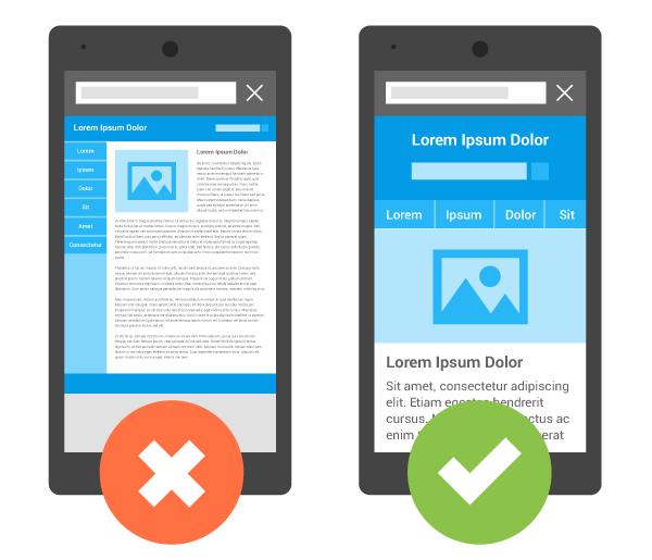 mobile website 모바일 웹사이트제작 운영관련 구글 가이드
