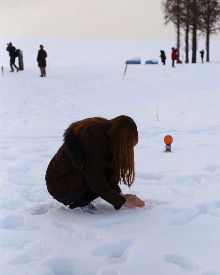 16110755 721683721342946 2531968278524329984 n 홋카이도 여행 비에이 맨손으로 눈사람 만들기