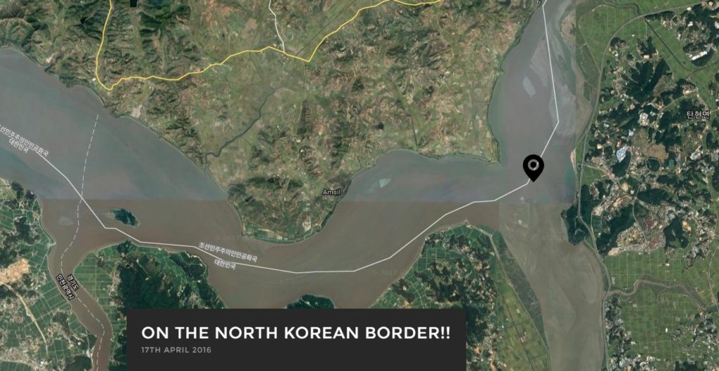 NORTH KOREAN BORDER 1024x529 [취업대신여행] 영국인 유튜버 루이스의 북한 평양여행