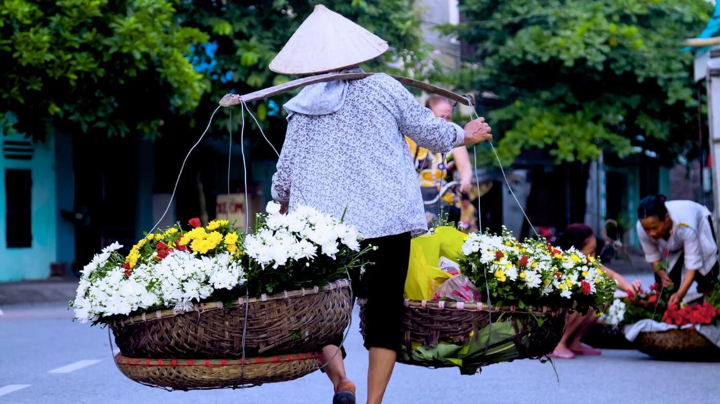 hochiminh city 호치민 봄꽃축제 HCMC Spring Flower Festival 2017