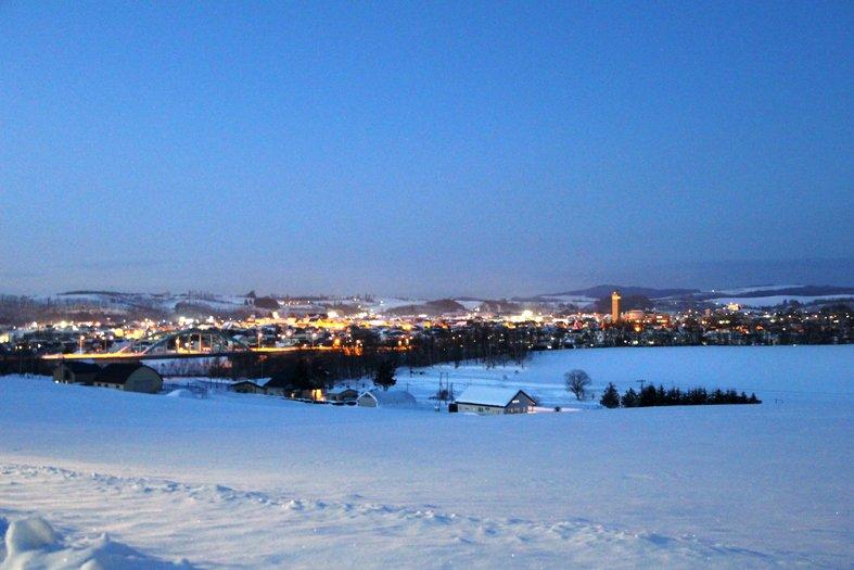 hokkaido biei city 홋카이도 인기 관광지 비에이의 설경! 흰수염폭포 등 명소 겨울풍경