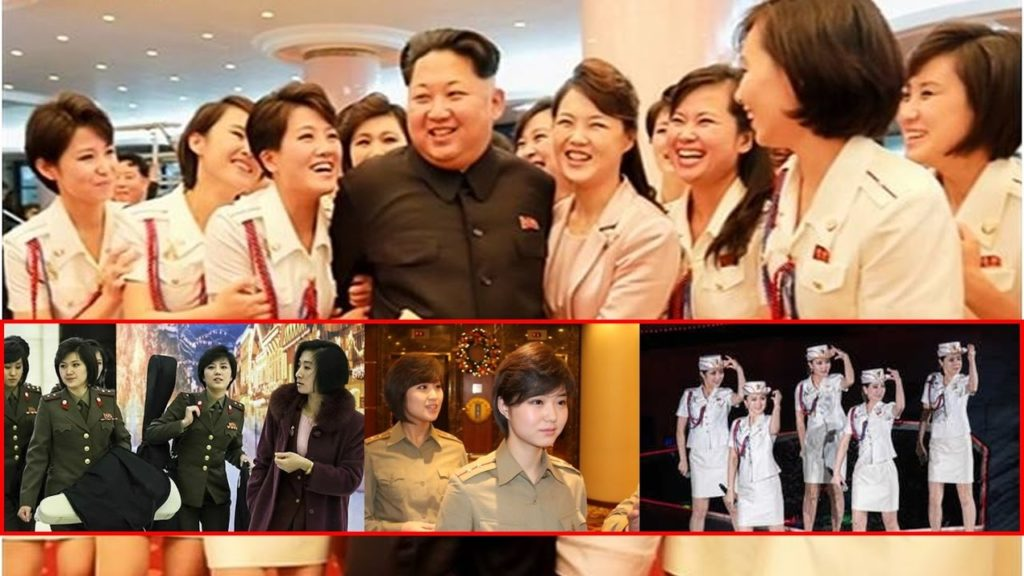 north korea girls2 1024x576 북한 기쁨조의 실체 사진 동영상   선발절차 및 외모기준