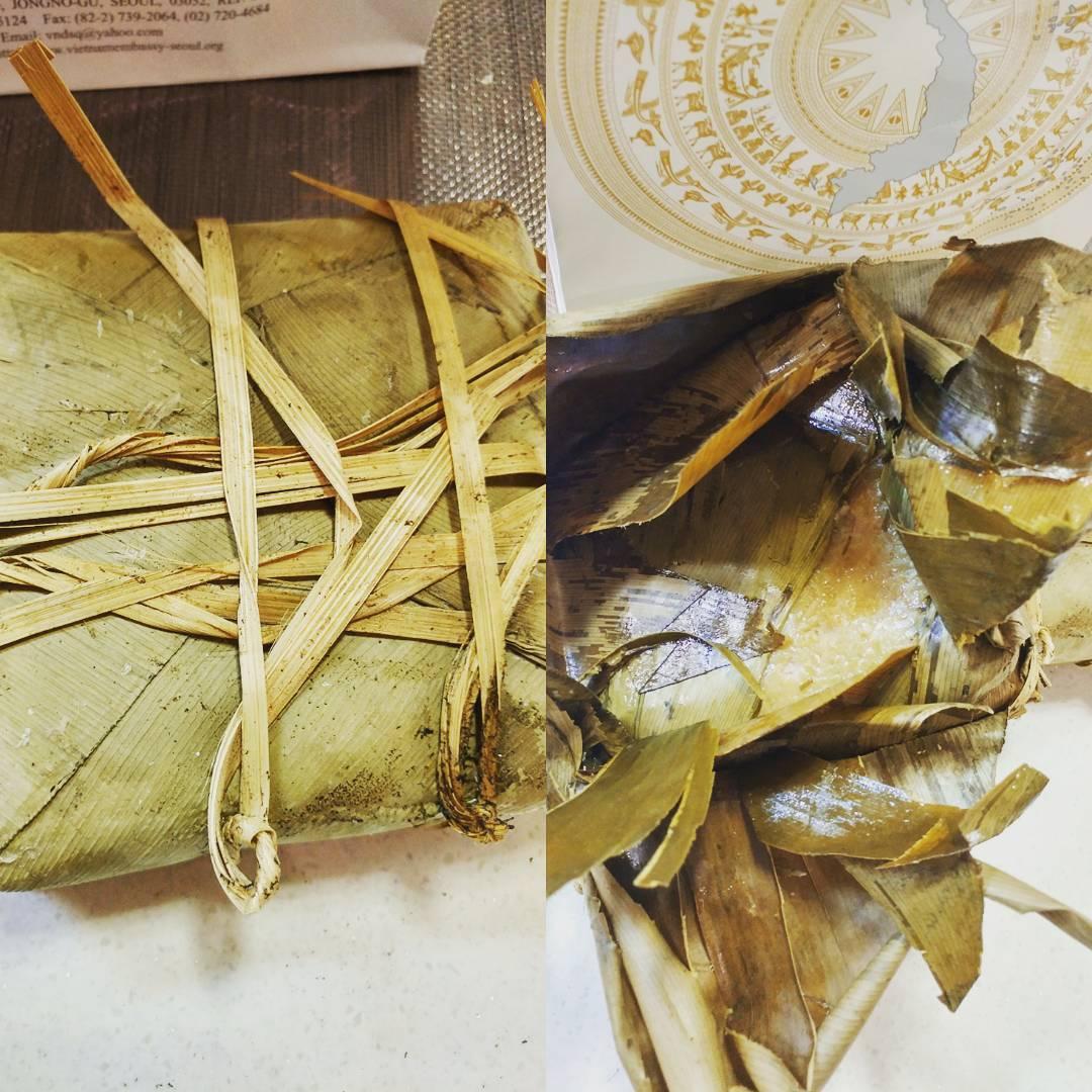 16123072 232092170581598 219538223997648896 n 베트남의 명절풍습   설에 먹는 떡 바인자이(bánh dày)