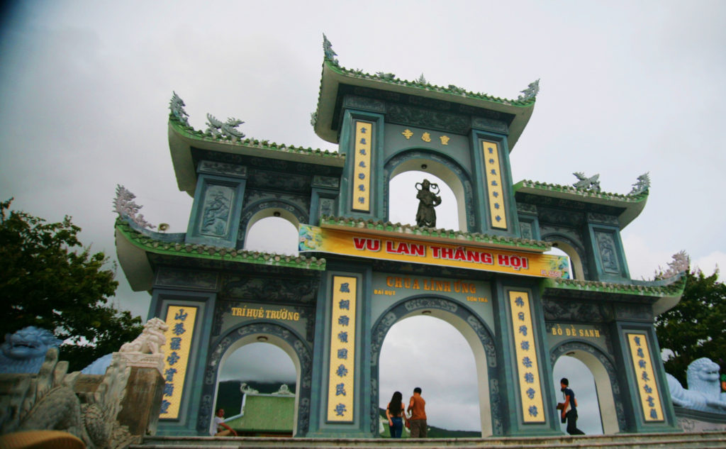 Linh Ung Bai But Pagoda 1024x633 베트남 다낭여행 선짜반도 린응사원(영응사) 최대의 불상
