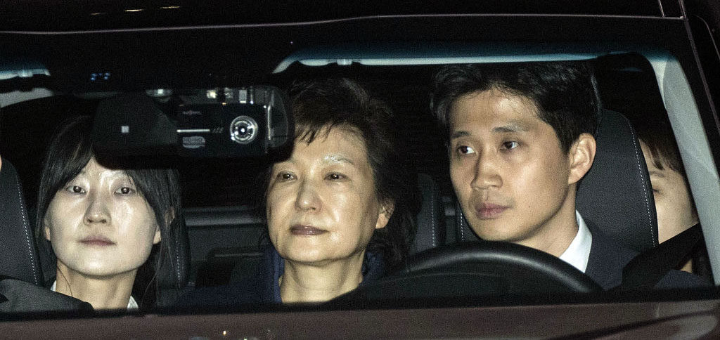 Park Geun hye arrested 1024x484 일본반응 박근혜 구속과 놀라운 진실! 대통령을 조정한 악녀의 파멸