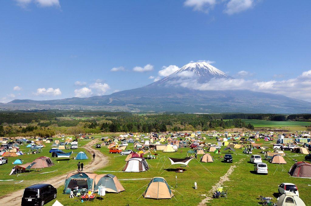goout camp japan 1024x680 후지산 아래서 캠핑! 일본 고아웃 잼버리(GOOUT JAMBOREE) 축제
